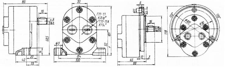 Г11-11А, АГ11-11