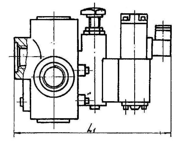 МКП резьбового монтажа электро